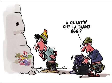 Caio Comix Libr vignette fumetto arrampicata alpinismo