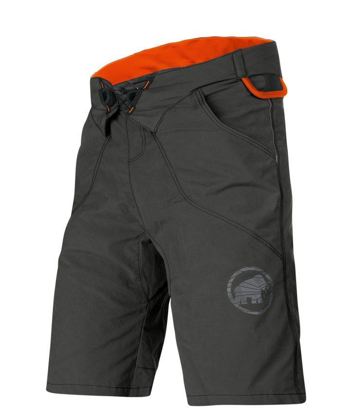 Mammut Realization Shorts panta imbrago arrampicata grigio