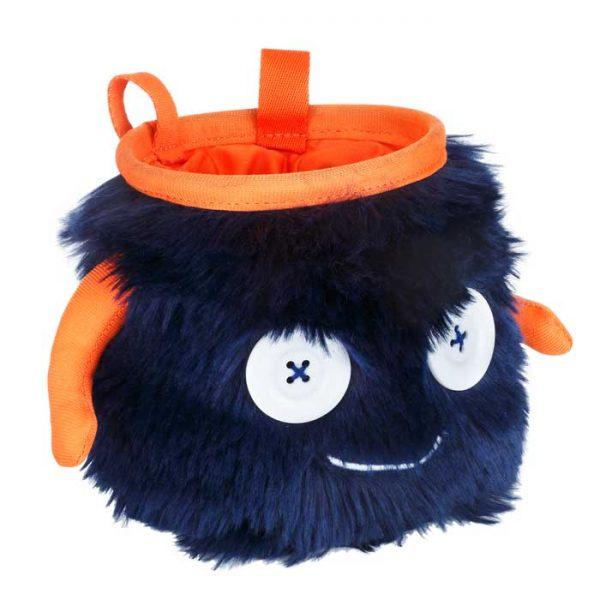 8BPlus Moritz Sacchetto Porta Magnesite blu e arancione peloso