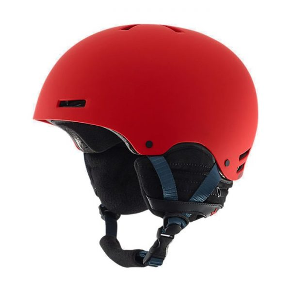 Anon Raider Helmet Casco rosso freeride burton