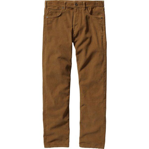 Patagonia Men's Cord Pants marroni pantaloni uomo velluto