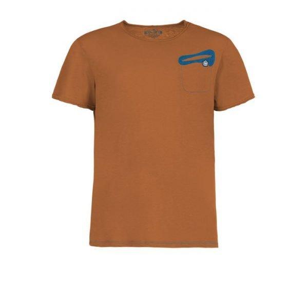 Enove E9 T-shirt Oblò Arrampicata brick t-shirt men