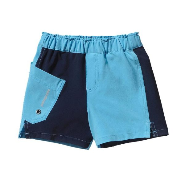 Patagonia Baby Meridian Board Shorts Costume Bimbo blu azzurro
