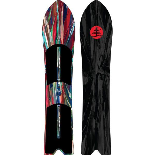 Burton Skipjack Surf Snowboard tavola neve fresca