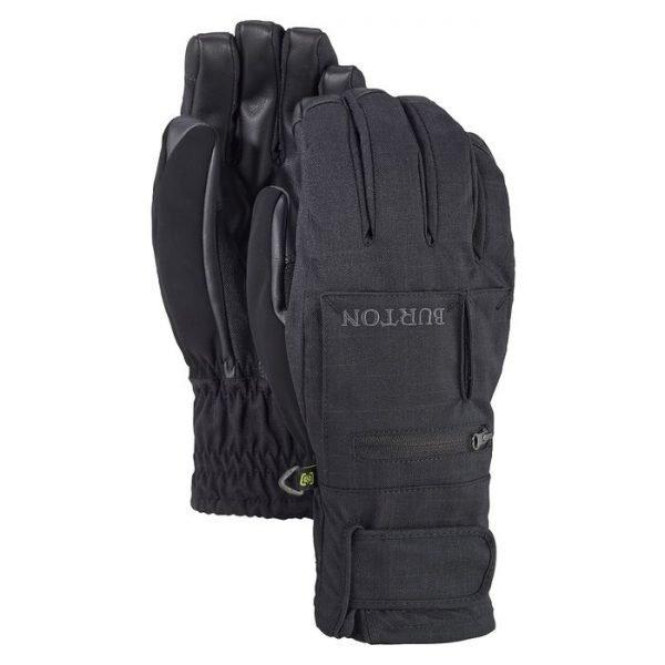 Men's Burton Baker 2-In-1 Under Glove guanti da sci snowboard uomo ragazzo neri
