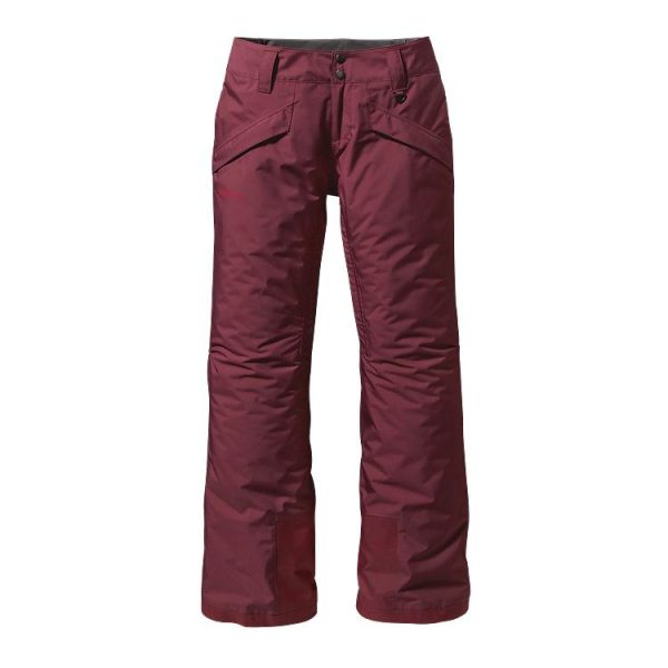 Patagonia Women's Insulated Snowbelle Pants - Regular prugna viola scuro pantaloni sci donna snowboard