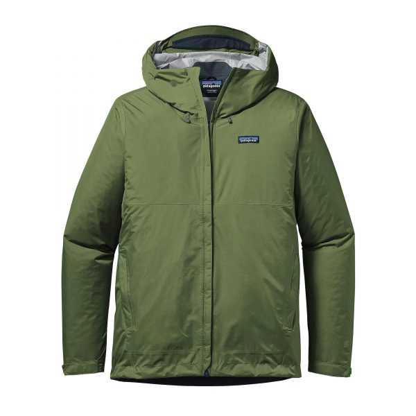 Patagonia Giacca Uomo Guscio Men's Torrentshell Jacket buffalo green