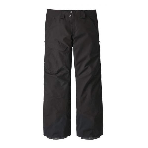 Patagonia Men's Powder Bowl Pants - Regular pantaloni sci snowboard gore tex uomo neri