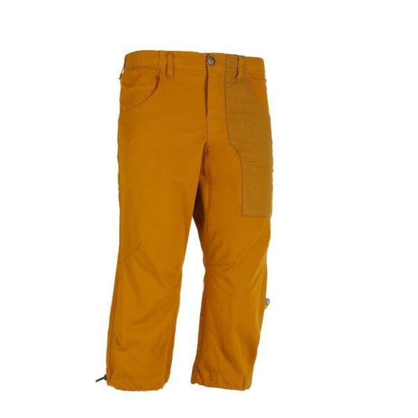 Enove pinocchietto uomo E9 Fuoco 3/4 arrampicata gialli arancioni