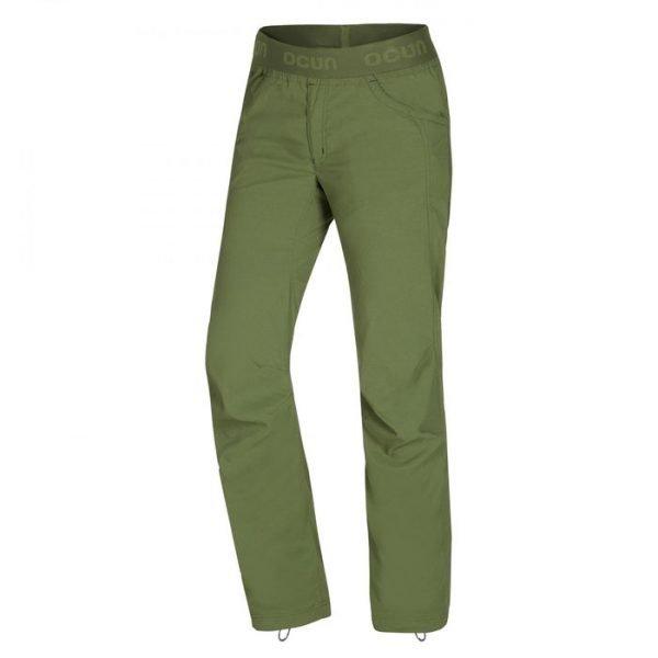 Ocun Mánia Pants Men pantaloni ragazzo leggeri arrampicata verdi