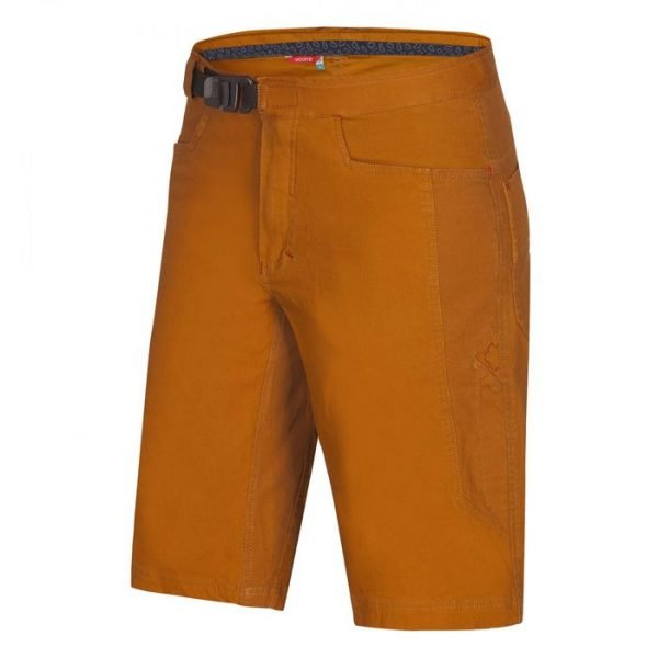 Ocun Honk Shorts Men gialli pantaloni corti arrampicata