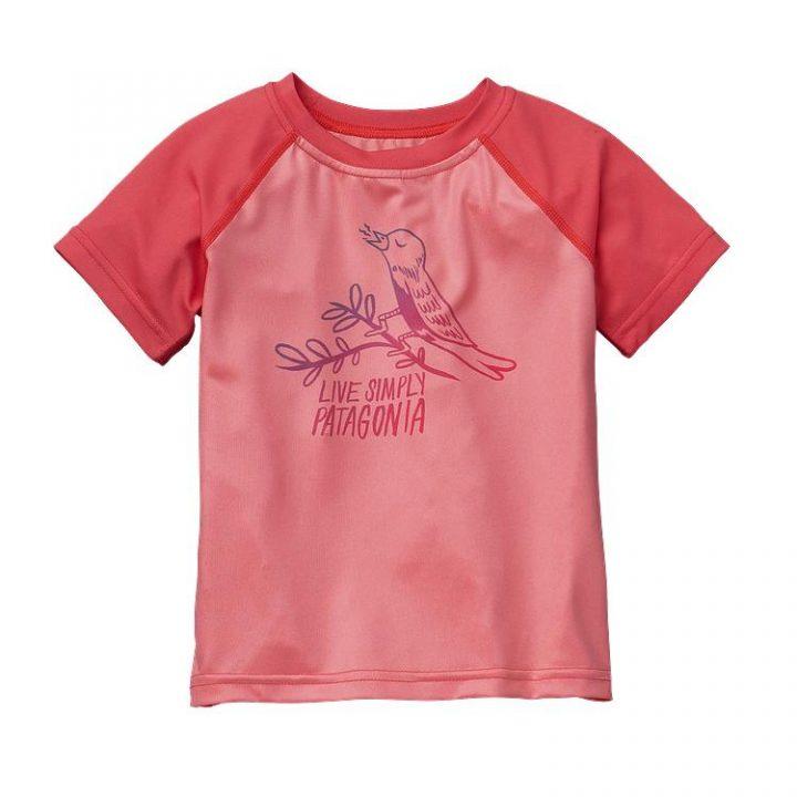 Patagonia Baby Capilene Daily T-Shirt bimba uccellino