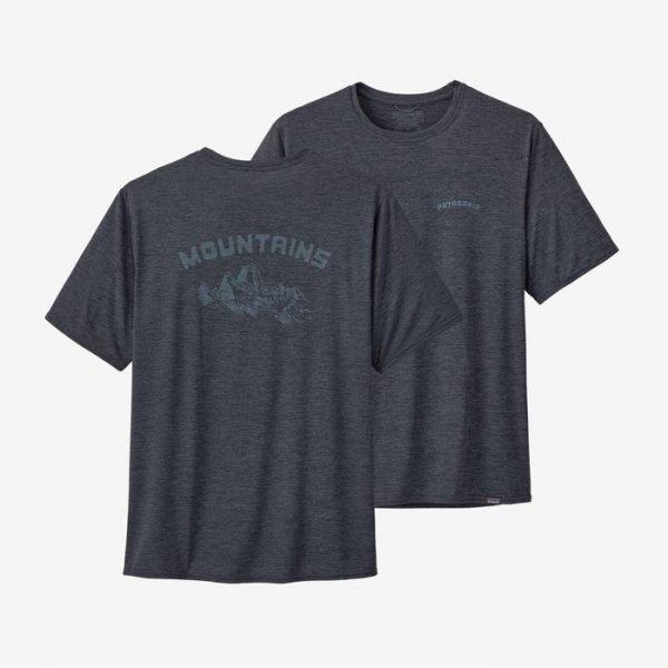 Patagonia Men's Capilene Cool Daily Graphic Shirt maglietta maschile da trekking viaggio protezione raggi solari