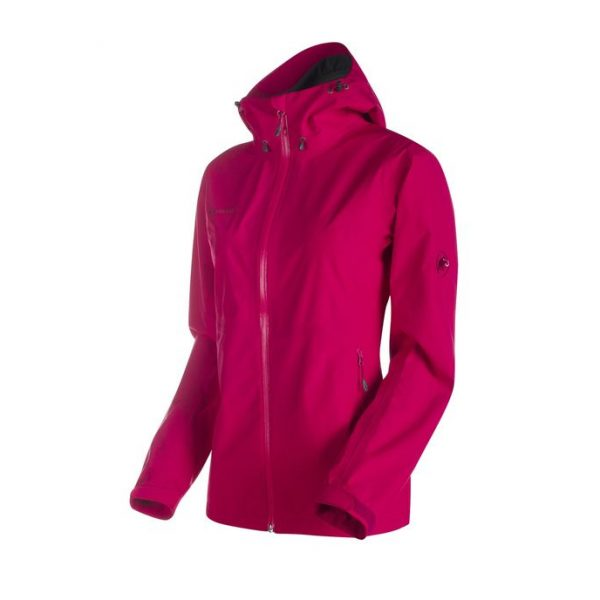Mammut Jona Jacket Women magenta guscio giacca donna alpinismo montagna