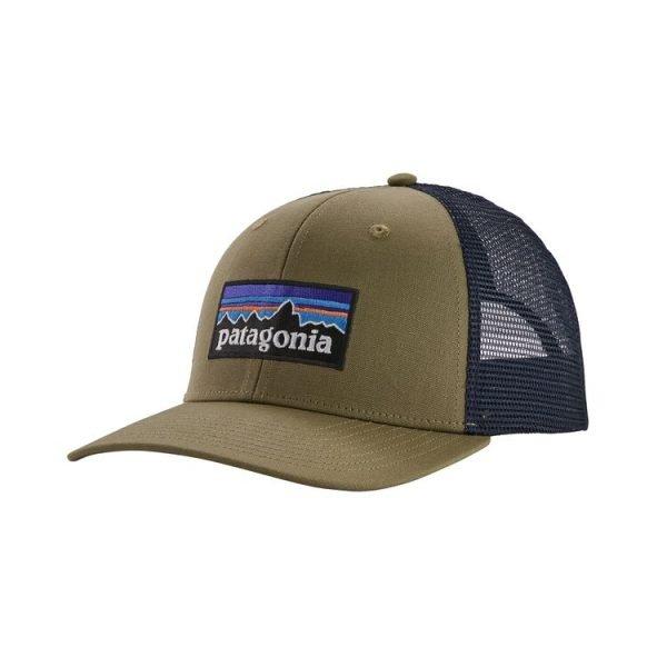 Patagonia P-6 Trucker Hat cappellino logo patagonia