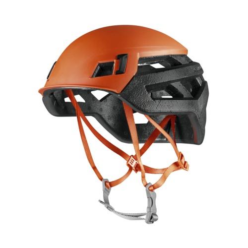 Mammut Casco Wall Rider super leggero arancione nero