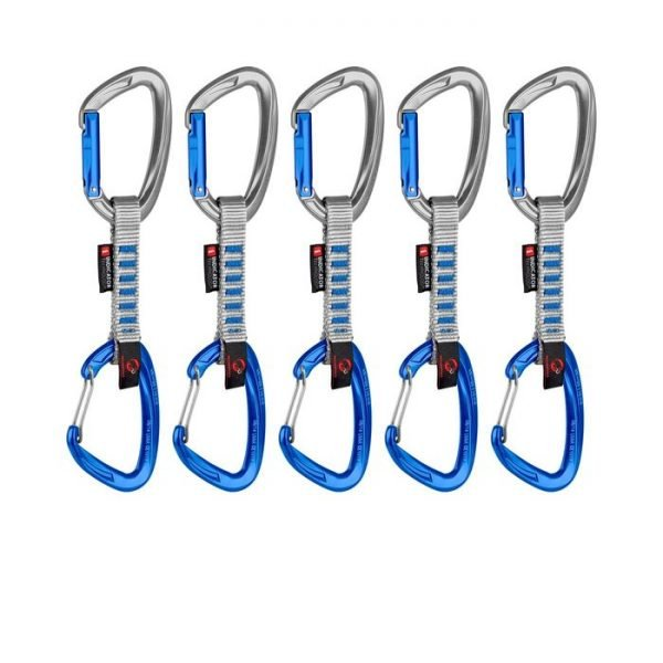 Mammut Crag Indicator Wire moschettoni per arrampicata blu