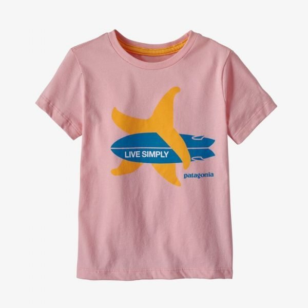 Patagonia Baby Live Simply Organic Cotton T-Shirt stella marina surf