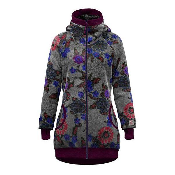 Crazy Idea Coat Siurana Woman cappotto invernale caldo in lana