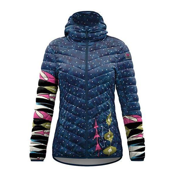 Crazy Idea Jkt Summit piumino sintetico caldo giacca donna