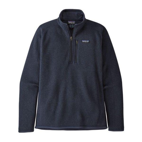 Patagonia Pile Uomo Men's Better Sweater 1/4-Zip Fleece blu pile maschile