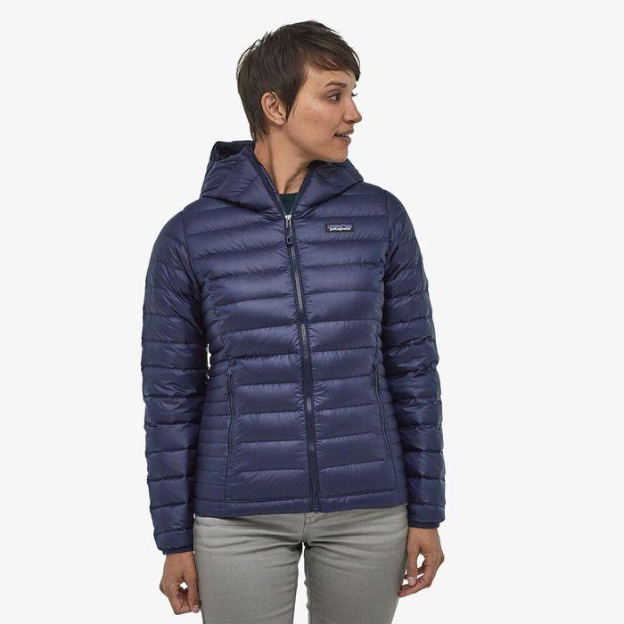 Patagonia Women's Down Sweater Hoody piumino 100 grammi donna