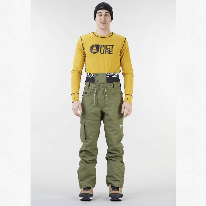 Picture Organic Clothing Under pantaloni neve da uomo