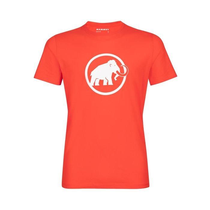 Mammut Logo T-shirt Men maglietta logo mammut elefante arancione
