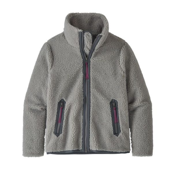 caldo pile giacca da donna morbido grigio drifer grey