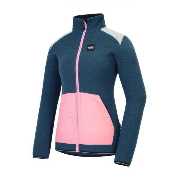 Picture pile donna Wakay con zip blu e rosa