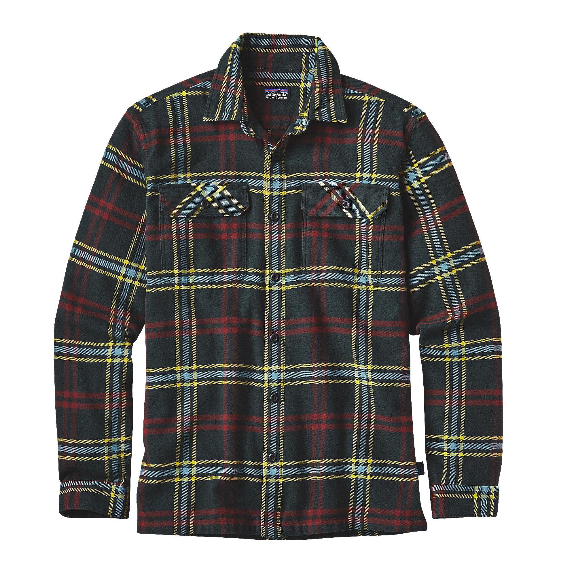 a basso prezzo f50c2 be8d3 Patagonia Camicia Uomo Flanella M's Long-Sleeved Fjord Flannel Shirt