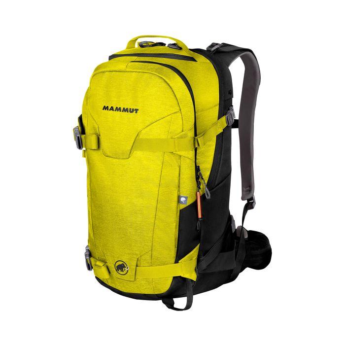 Mammut Zaino Nirvana Ride 30 litri verde acido giallo sci fuori pista