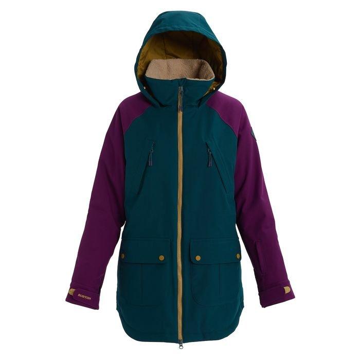 giacca snowboard donna ragazza colorata