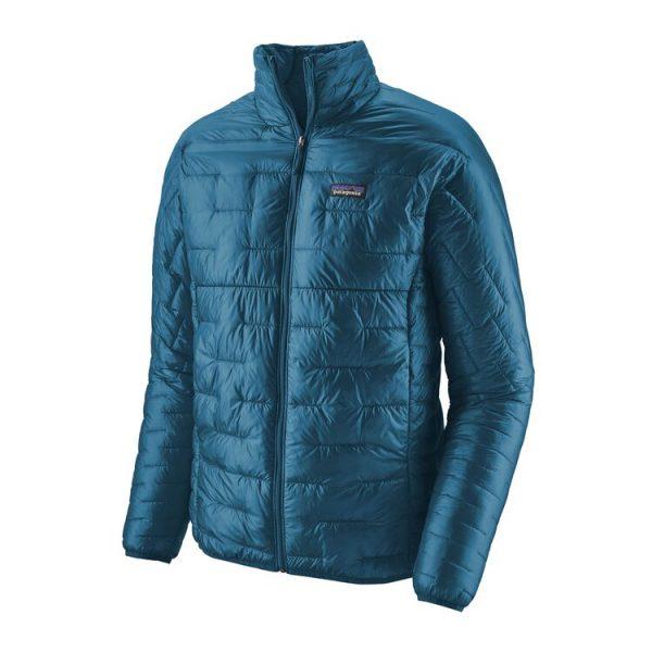 Patagonia Men's Micro Puff Jacket balkan blue piumino sinteitco uomo