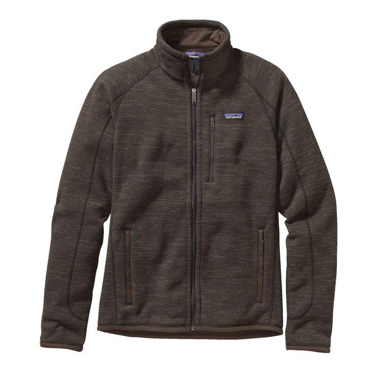 Patagonia Pile uomo Men s Better Sweater Fleece Jacket pile marrone felpone  giacca 53a01ad9e8da
