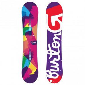 Burton Genie Snowboard Tavola Donna Facile