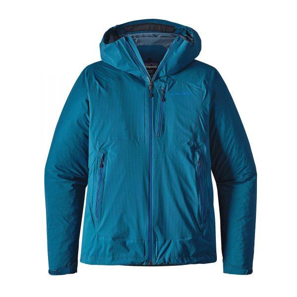 Patagonia Guscio Giacca pioggia Uomo M's Stretch Rainshadow Jkt colore Big Sur Blue