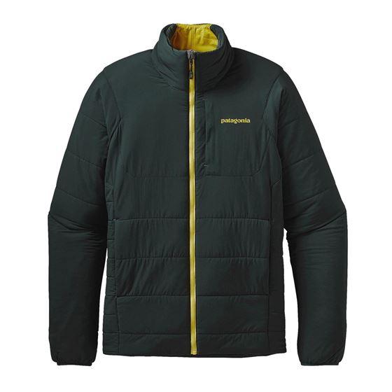 Patagonia Giacca Uomo Men's Nano Air Jacket verdone sintetico sotto guscio verde scuro