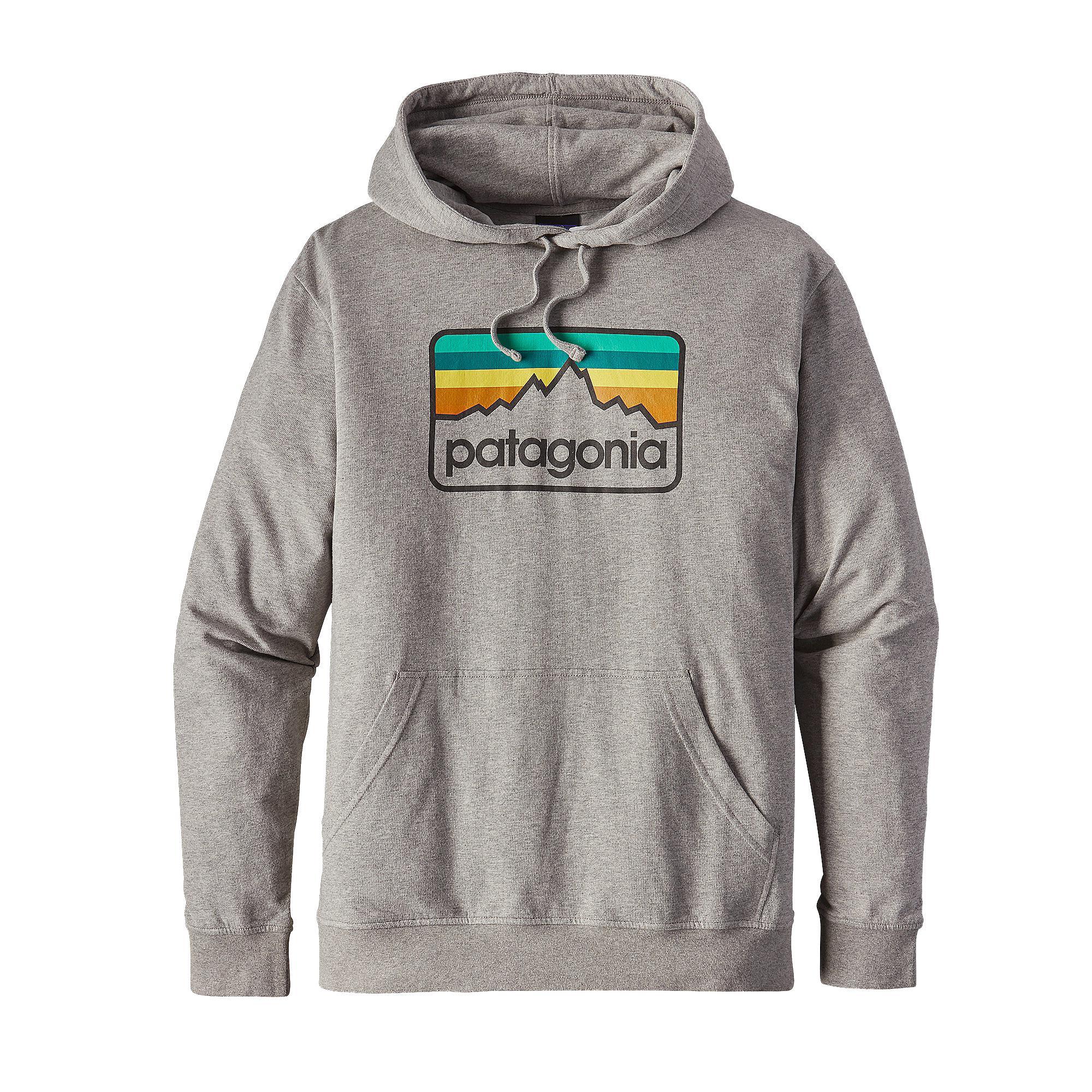 taglia 40 7760a 44346 Patagonia Felpa Uomo M's Line Logo Badge LW Hoody