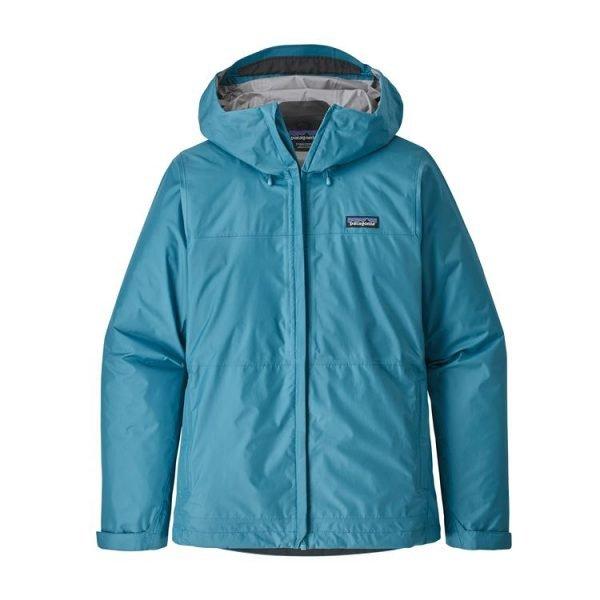 Patagonia Giacca Guscio Donna Women's Torrentshell Jacket guscio giacca montagna donna ragazza azzurro