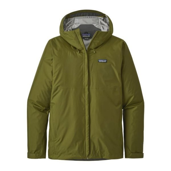 Patagonia Giacca Uomo Guscio Men's Torrentshell Jacket verde