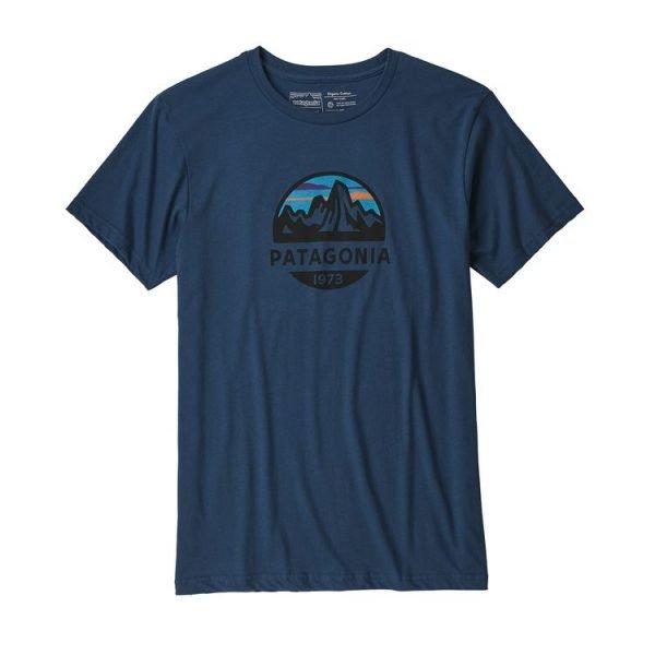 Patagonia Men's Fitz Roy Scope Organic Cotton T-Shirt maglietta uomo logo cerchio montagna