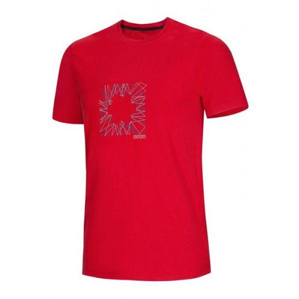 Ocun Dash Tee Uomo red rossa