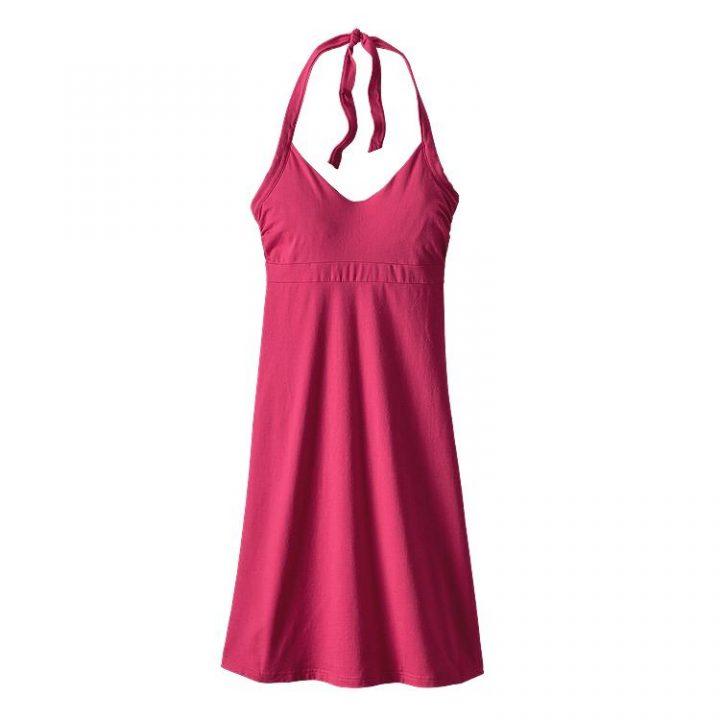 Patagonia Women's Iliana Halter Dress rosa craft pink abito donna