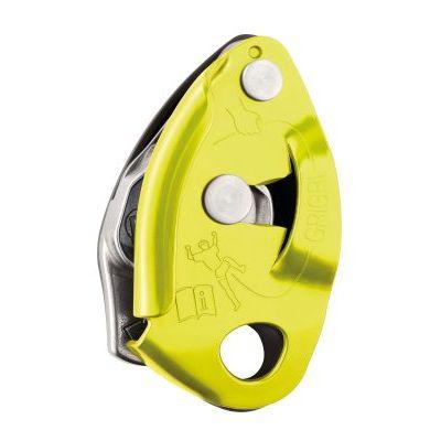 petzl grigri2-lime-assicuratore arrampicata climbing