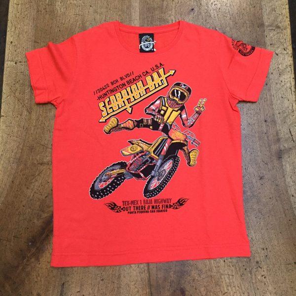 Scorpion Bay Maglietta Bimbo rossa cairoli moto