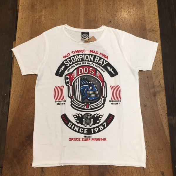 Scorpion Bay T-shirt Ragazzo Bianca Piranha saldi sconti