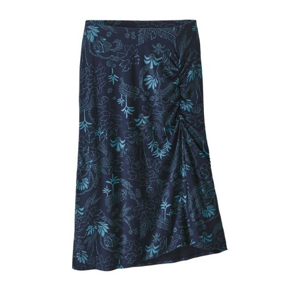 Patagonia Women's Dream Song Skirt gonna vestitino donna blu