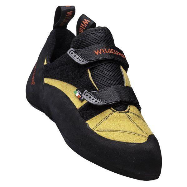 Wild Climb Sky V Velcro scarpa arrampicata gialla