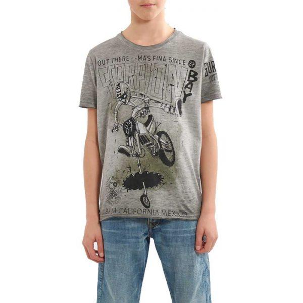 Scorpion Bay T-shirt Ragazzo grigia